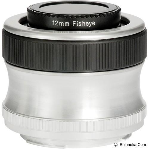 LENSBABY Scout for Nikon w/ Fisheye Optic  [LBSFEN] - Camera Slr Lens